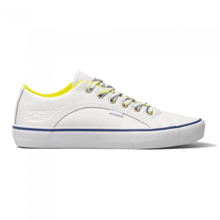 Vans x Quartersnacks Lampin Pro LTD True White Skate Shoes