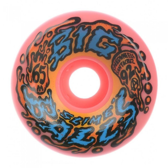 Slime Balls Wheels Big Balls Speedwheels Reissue Skateboard Wheels Pink 65mm