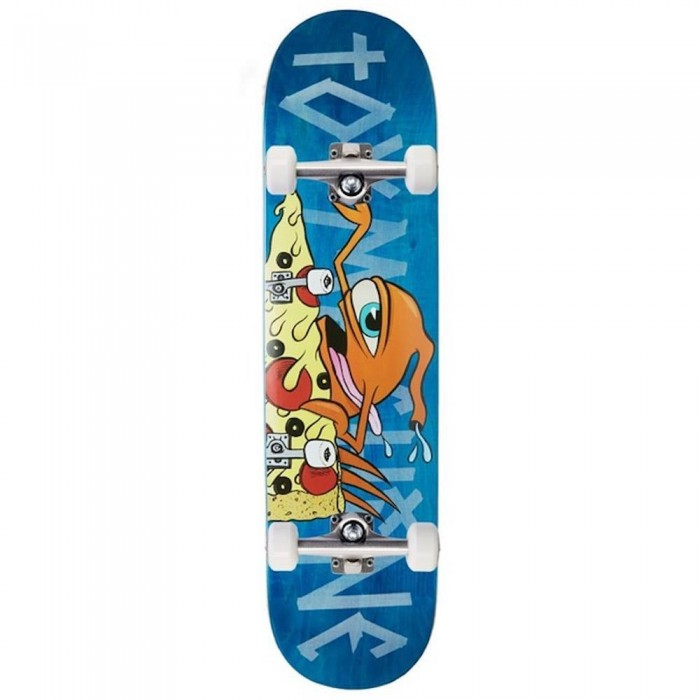 """Toy Machine Pizza Sect Factory Complete Skateboard Multi 7.75"""""""