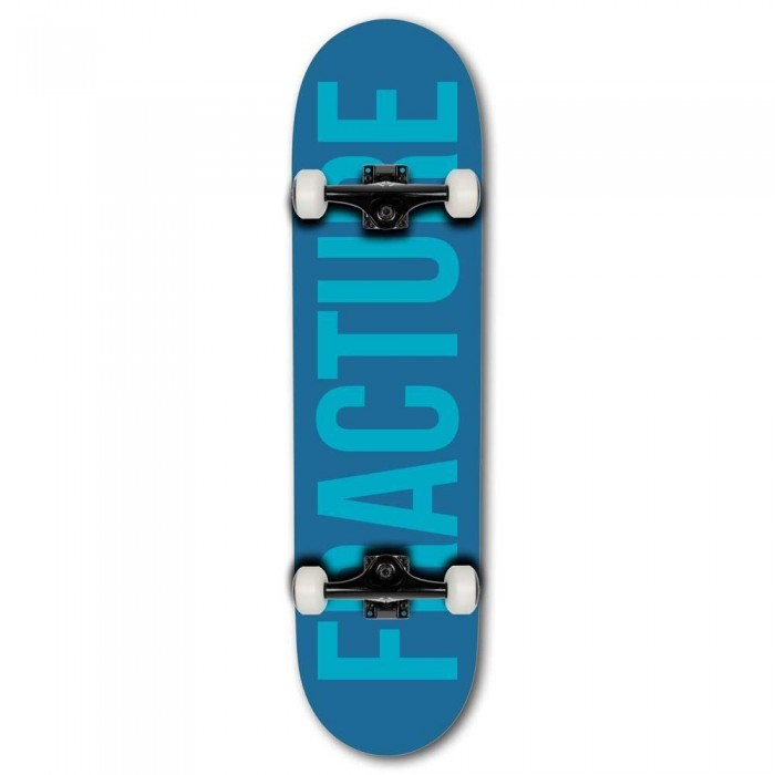 """Fracture Fade Factory Complete Skateboard Blue Teal 8.25"""""""
