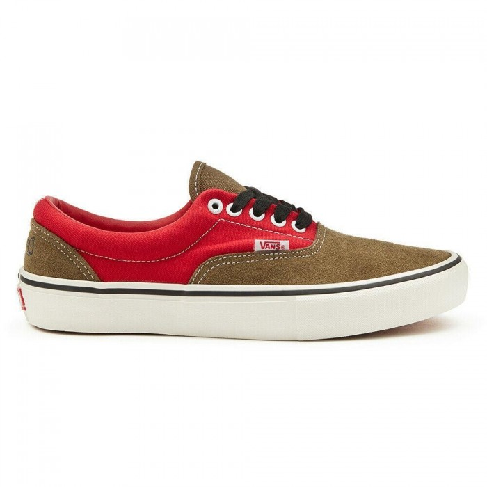 Vans x Lotties Era Pro LTD Red Military Skate Shoes