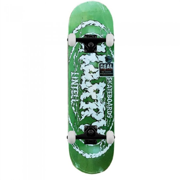 """Real Deck New Pro Oval Harry Lintell Complete Skateboard 8.25"""""""