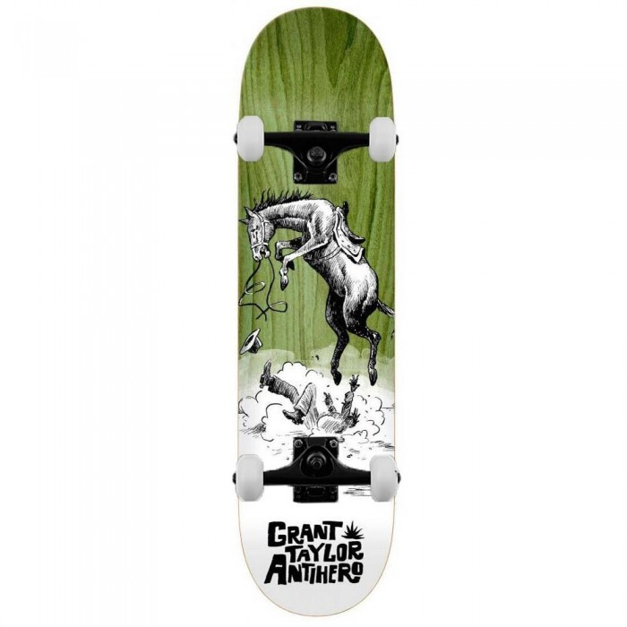"""Anti Hero Taylor How The West Complete Skateboard Various Wood Stains 8.5"""""""