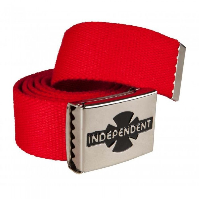 Independent Truck Co Clipped Belt Cardinal Red One Size Adult