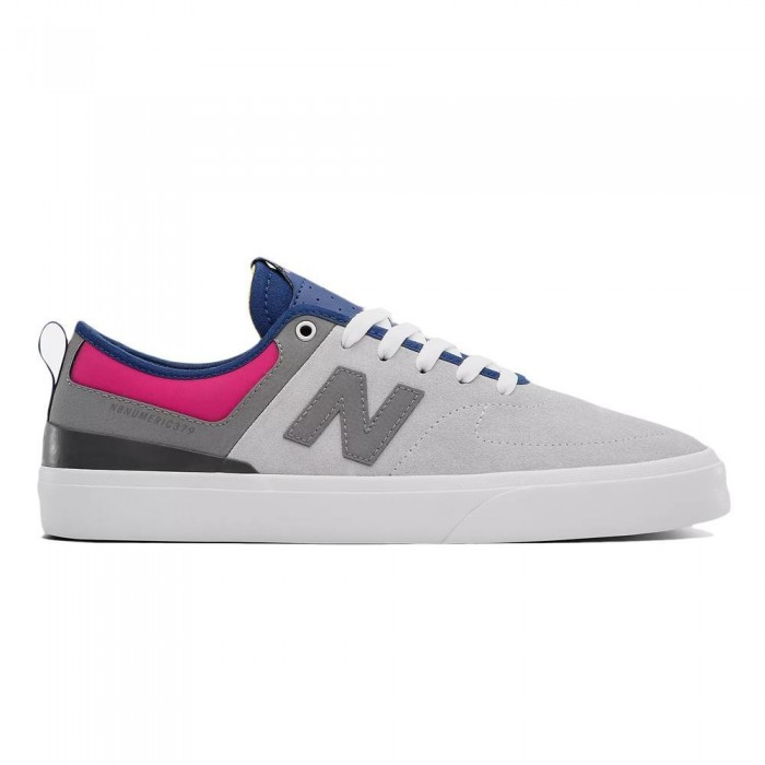 New Balance Numeric 379 Grey Pink Skate Shoes