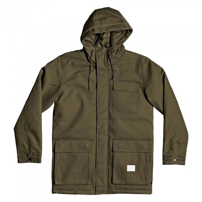 DC Shoe Co Canondale Jacket Fatigue Green