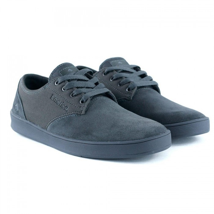 Emerica Footwear Romero Laced Charcoal Skate Shoes