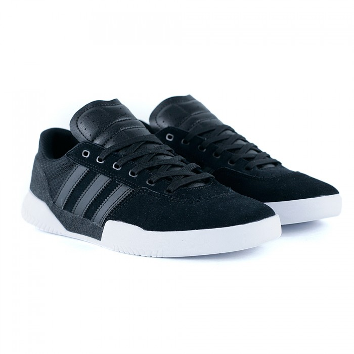 Adidas Skateboarding City Cup Core Black Core Black Feather White