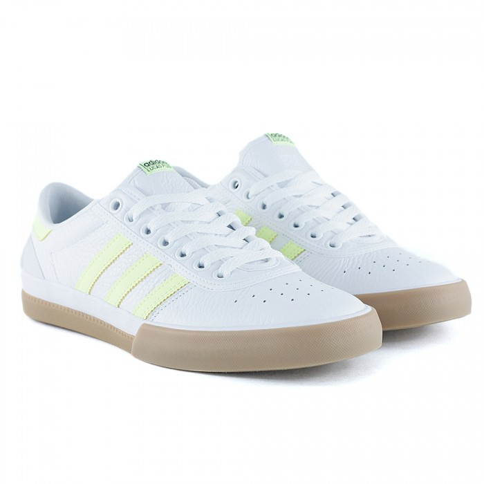 Adidas Skateboarding Lucas Premiere Feather White Hi Res Yellow Gum