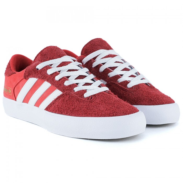 Adidas Skateboarding Matchbreak Super ST Brick Feather White Gold Metallic Skate Shoes