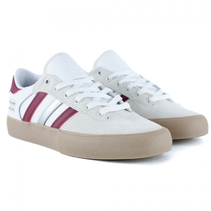 Adidas Skateboarding Matchbreak Super x Shin Sanbongi Collegiate Burgundy Gum White Skate Shoes