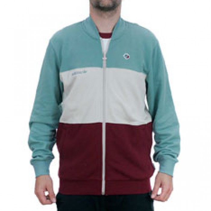 Adidas Skateboarding x Magenta Zipped Jacket Vapour Steel Clear Brown Burgundy