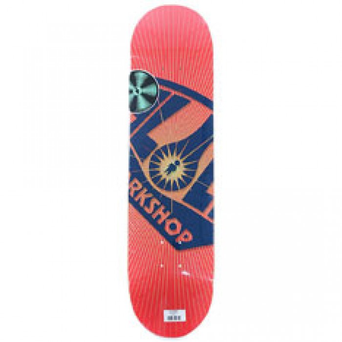 Alien Workshop Skateboards Logo OG Burst Skateboard Deck Red 8""