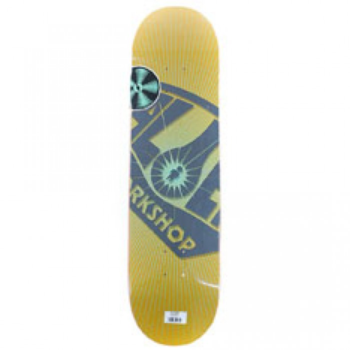 Alien Workshop Skateboards Logo OG Burst Skateboard Deck Yellow 8.5""