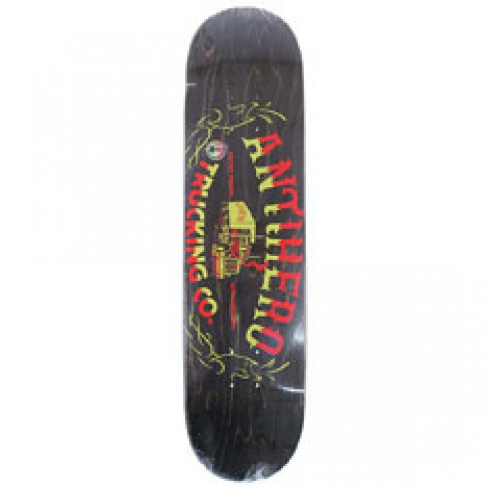 Anti Hero Skateboards One Eight Trucking Brown Skateboard Deck 8.06""