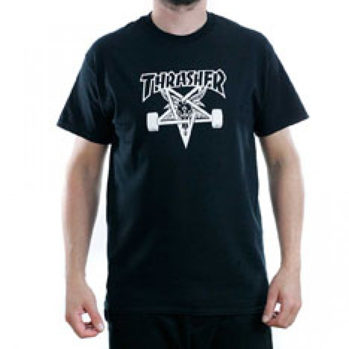 Thrasher Magazine Black Skategoat T-Shirt