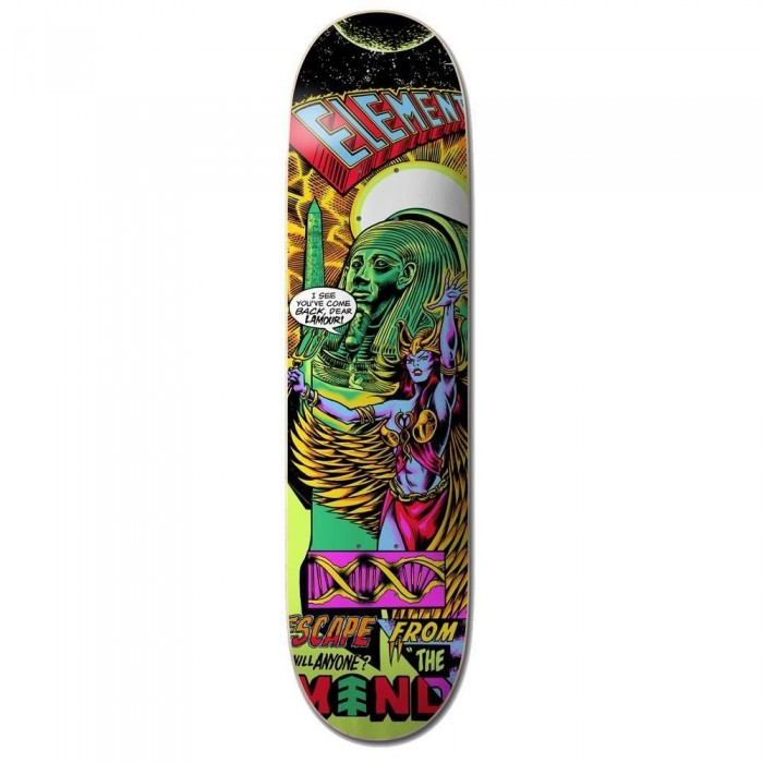 """Element Escape From The Mind Skateboard Deck Multi 8.38"""""""