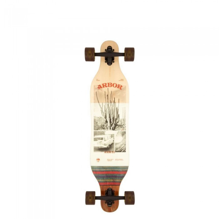 """Arbor Photo Axis Performance Factory Complete Skateboard Multi 37"""""""