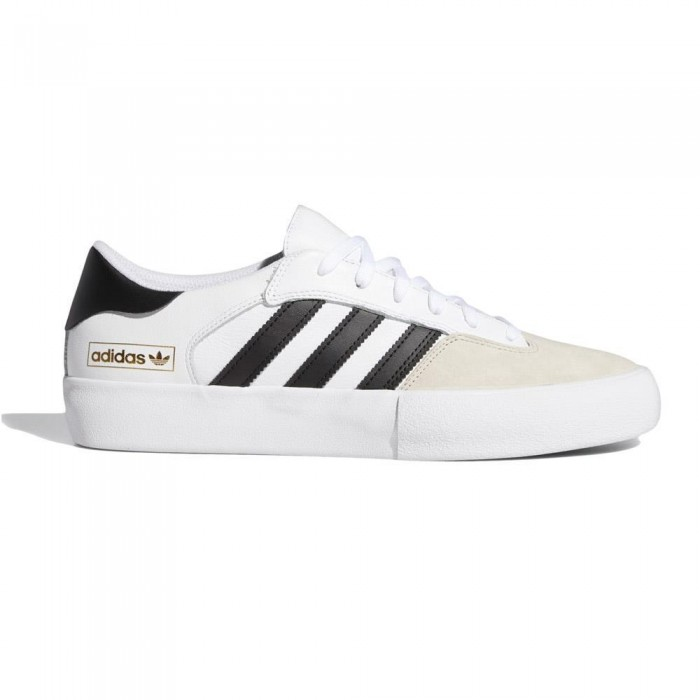 Adidas Skateboarding Matchbreak Super Feather White Skate Shoes