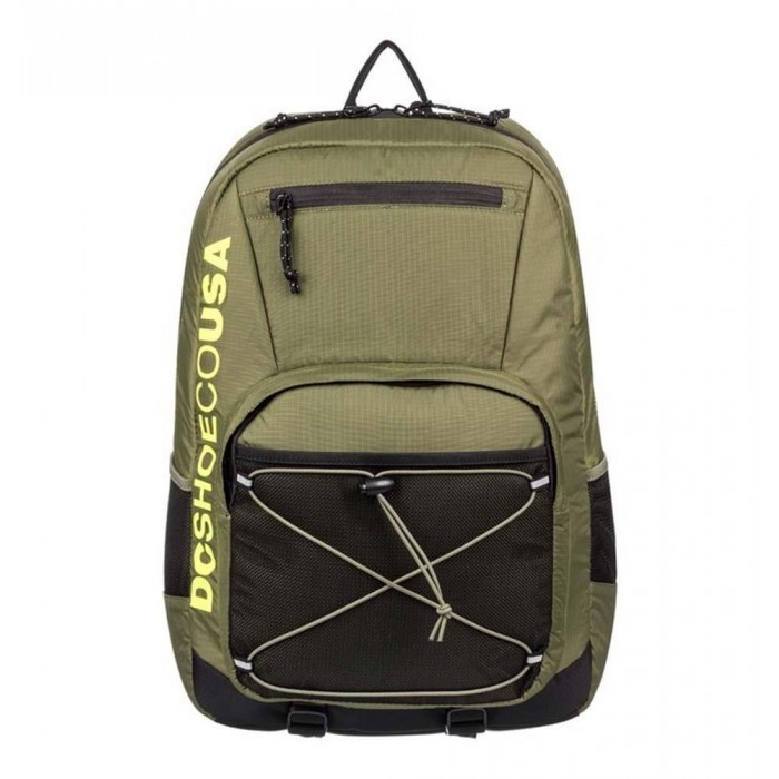 DC Shoes Cushings Backpack Bag Fatigue Green