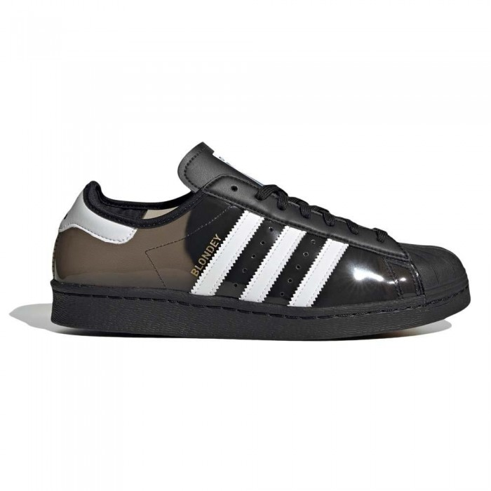 Adidas Skateboarding Blondey Superstar Core Black Feather White Skate Shoes