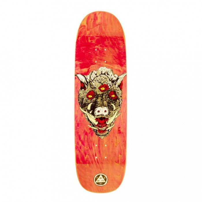 Welcome Skateboards Hog Wild on Boline Skateboard Deck 9.25""
