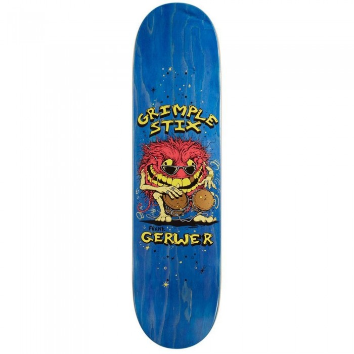 Anti Hero Grimple Gerwer Family Band Skateboard Deck Multi 8.06""