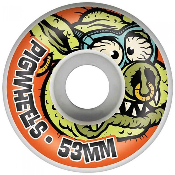 Pig Toxic Skateboard Wheels USA MADE  Pro line 53mm