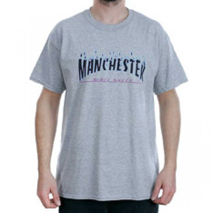 Black Sheep Manchester Rain Of Fire Sport Grey T-Shirt