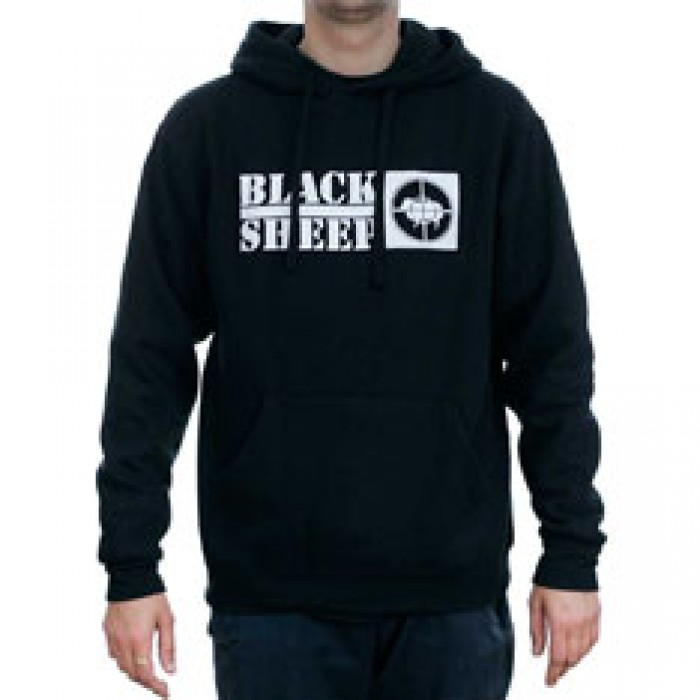 Black Sheep Public Enemy No 1 Hooded Sweatshirt Black