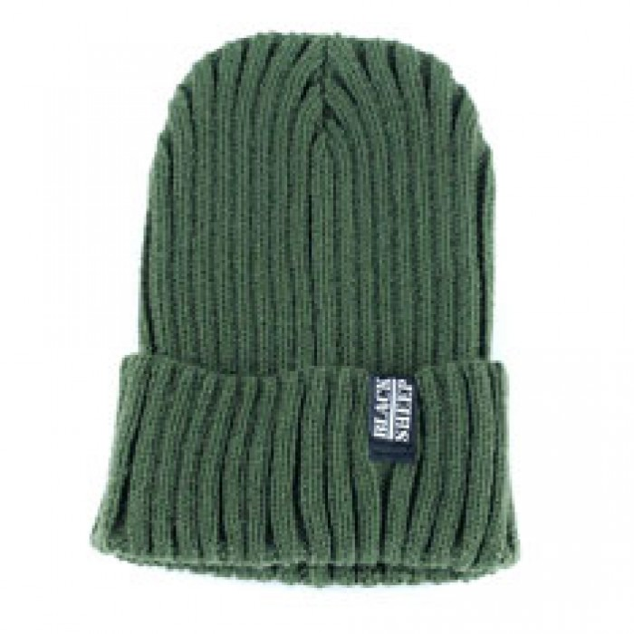 Black Sheep Target Thick Knit Beanie Moss Green One Size