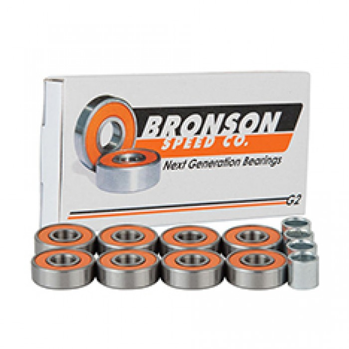 Bronson Speed Co Skateboard Bearings G2