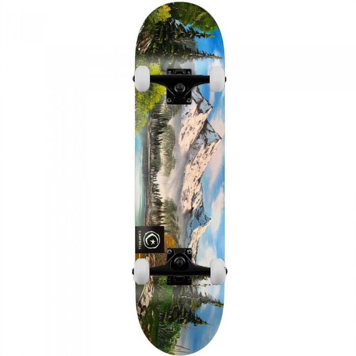 """Foundation Campbell Scapes Complete Skateboard Multi 8.25"""""""