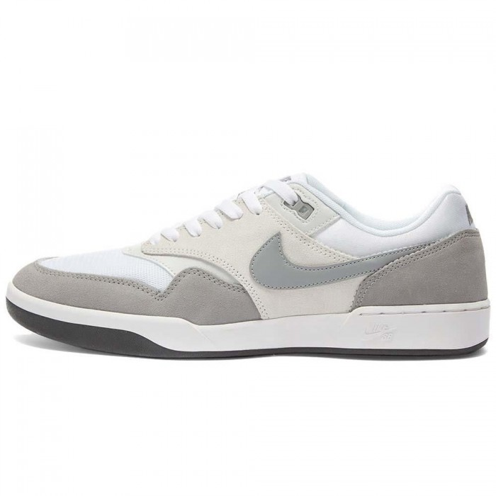 Nike Sb GTS Return Photon Dust Particle Grey White Skate Shoes
