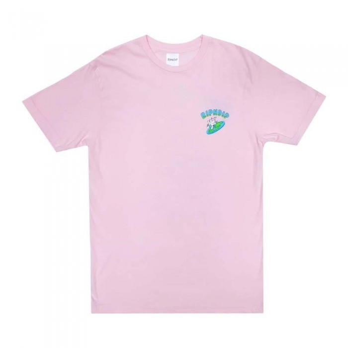 Rip N Dip The World Is Yours T-Shirt Light Pink