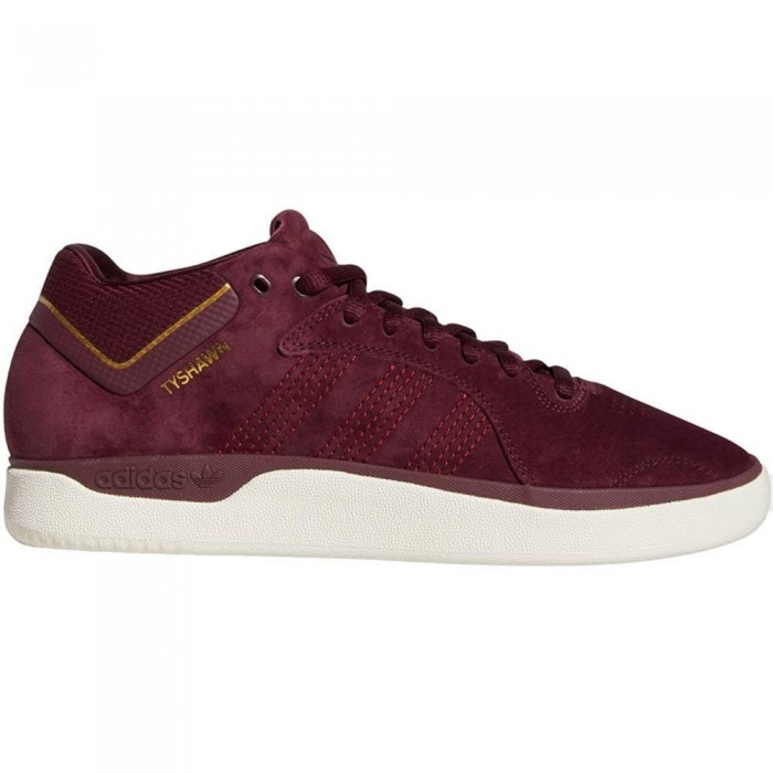 Adidas Skateboarding Tyshawn Maroon Skate Shoes