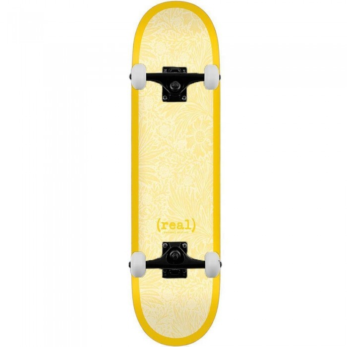 Real Flowers Renewal Complete Skateboard Yellow 8.38""