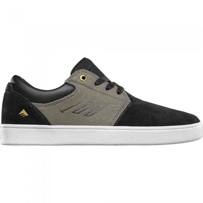 Emerica Footwear Alcove CC Black Olive Black Skate Shoes