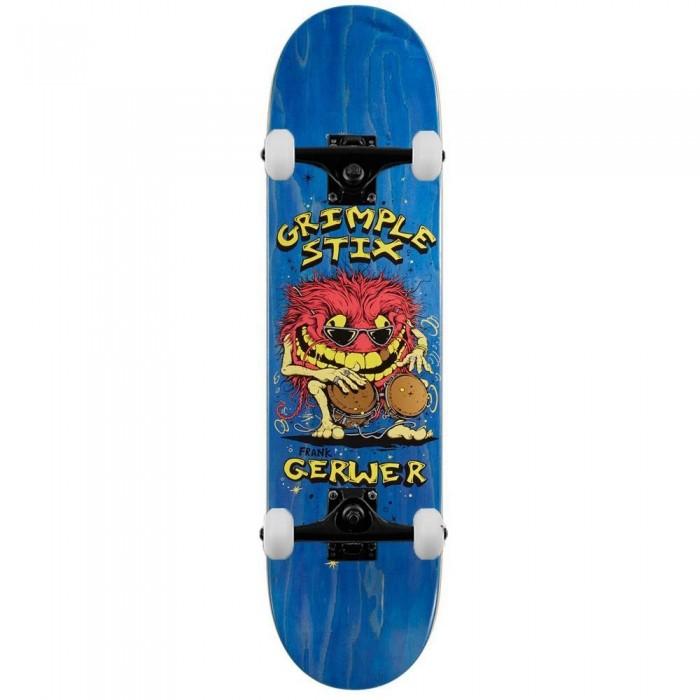 Anti Hero Grimple Gerwer Family Band Complete Skateboard Multi 8.06""