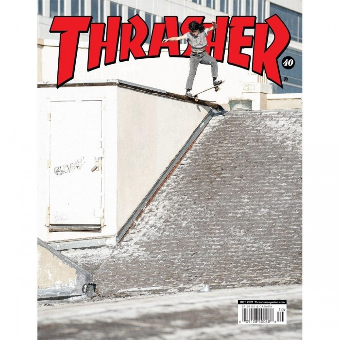 Thrasher Magazine October 2021 Breana Geering Crooked Cover