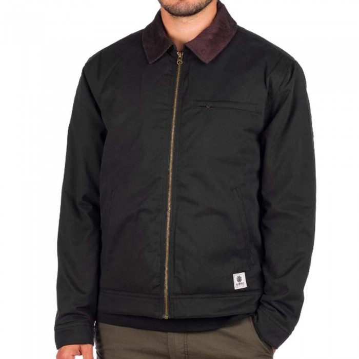 Element Craftman Zip Jacket Flint Black