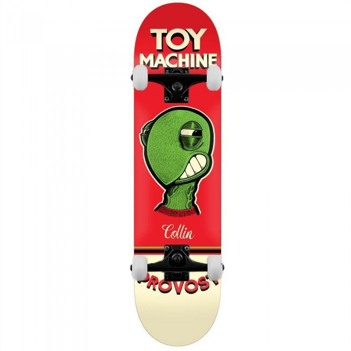 """Toy Machine Provost Pen N Ink Complete Skateboard Red 8"""""""