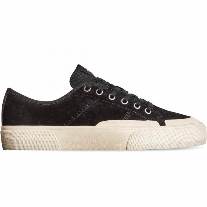 Globe Footwear Surplus Black Cream Montano Skate Shoes