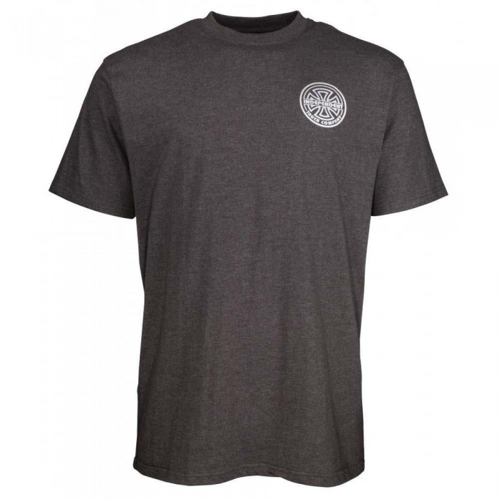 Independent Truck Co Bauhaus Bold T-Shirt Charcoal Heather Grey