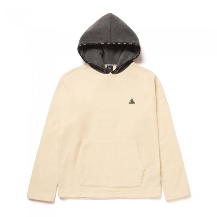 Huf Codex Polar Fleece Jacket Unbleached