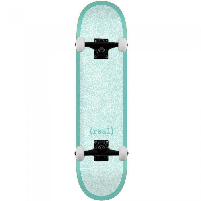 Real Flowers Renewal Complete Skateboard Turquoise 8.25""