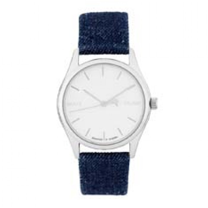 Cheapo Brand Watches Good Vs Evil Silver Blue Denim