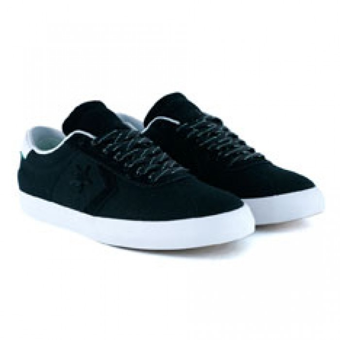 6f177d5bebc Converse Cons Breakpoint Pro Ox Black White Green Glow Skate Shoes ...