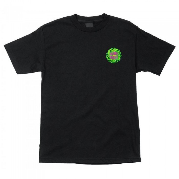 Slime Balls Wheels Sb Logo T-Shirt Black