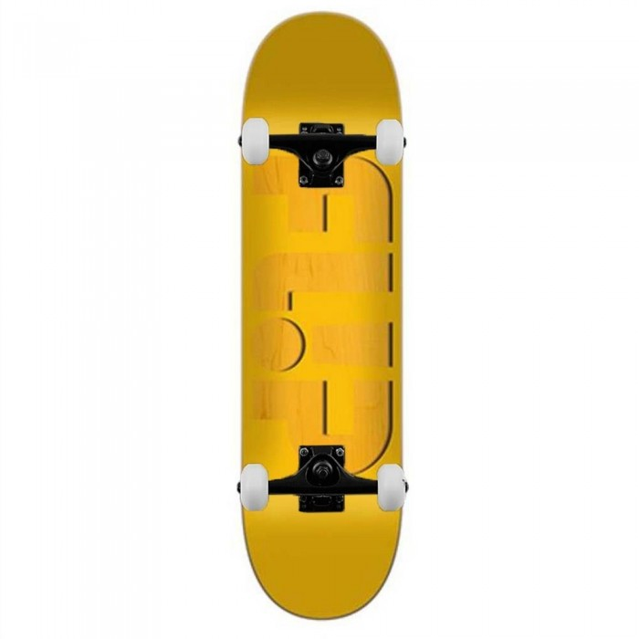 Flip Odyssey Embossed Yellow Complete Skateboard 8.13""